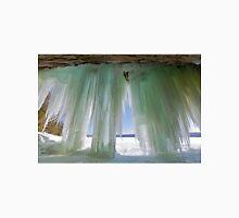 Ice Curtains on Grand Island near Munising Michigan T-Shirt