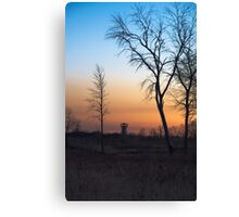Sunset at the Tower Preserve Canvas Print