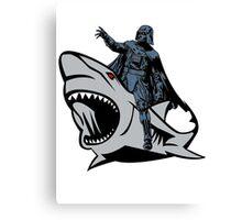 Shark vader! Canvas Print