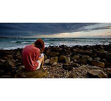 Dawn Scribbler Photographic Print