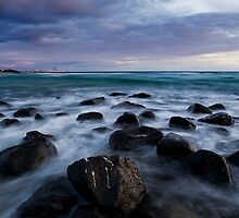 Towards Miami and Surfers Paradise by Ken Wright