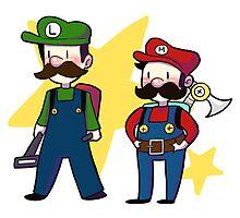 Super Mario Bros by honeytiger
