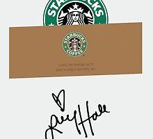 Lucy Hale Coffee by larim
