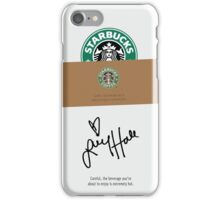 Lucy Hale Coffee iPhone Case/Skin