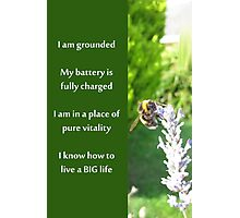 Healing Affirmations Photographic Print