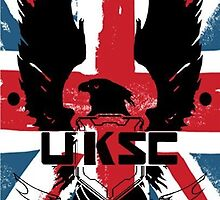 United Kingdom Space Command Logo by ammixusdesign