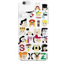 Child of the 60s Alphabet iPhone Case/Skin