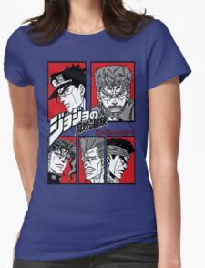 Stardust Crusaders  Womens Fitted T-Shirt