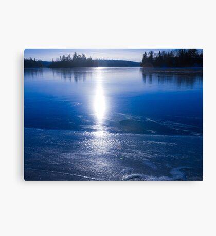 Freezing Up Canvas Print