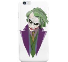 Geometric Joker Transparent iPhone Case/Skin
