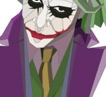 Geometric Joker Transparent Sticker