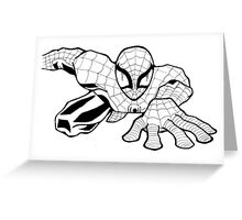 Spider Man Greeting Card