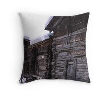 Switzerland 3 Barns Throw Pillow