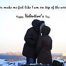 You make me feel like I am on top of the world by ZeeZeeshots