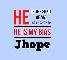 HE IS MY BIAS LIGHT BLUE - JHOPE by Kpop Seoul Shop