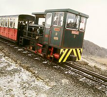 Snowdon at Easter 6 by Frederick Wood