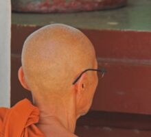 Buddhist Monk Sticker