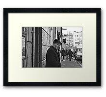 busted (Bacon Street) Framed Print