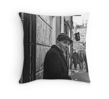 busted (Bacon Street) Throw Pillow