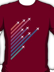 Airplanes and Gradients T-Shirt