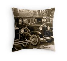 Life in the Village Throw Pillow