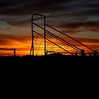 Loading Ramp at Sunset by stackerzling