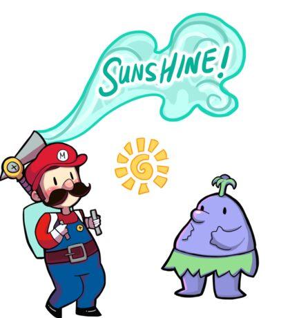 Super Mario Sunshine Sticker