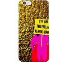 Blond iPhone Case/Skin