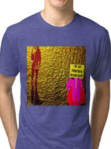 Blond Tri-blend T-Shirt