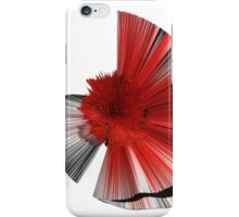 """Consciousness of the Inanimate"" painting as a Spherical Depth Map. 1 iPhone Case/Skin"