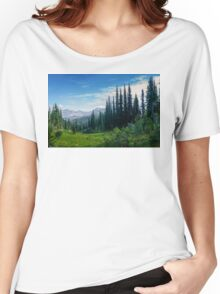 MT Revelstoke BC  Women's Relaxed Fit T-Shirt