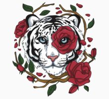 White Tiger Kids Tee