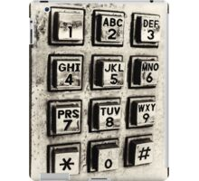What's Your Number? iPad Case/Skin
