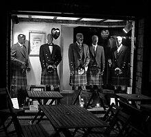 Kilts for Sale - Edinburgh, 2008 by Jerry Carpenter