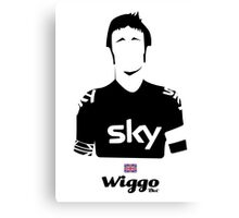 Wiggo - Bici* Legendz Collection  Canvas Print