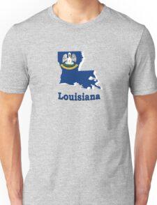 louisiana state flag Unisex T-Shirt