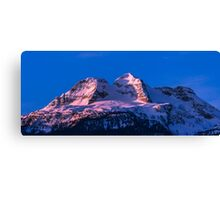 Sunrise MT Begbie  Canvas Print