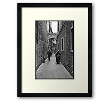 Old Women - Venice  Framed Print