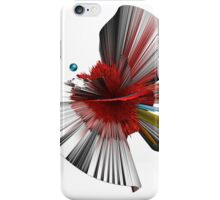 Consciousness of the Inanimate painting as a Spherical Depth Map. 2 iPhone Case/Skin