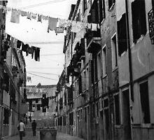 Back Street  - Venice  by Carl Gaynor