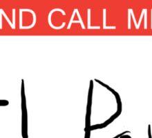 Carl Poppa. Sticker