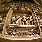 Wall Carving from St Patricks Cathedral - New York City by Kent Burton