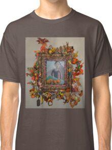 Levitating Oranges Of Borneo - Framed Classic T-Shirt