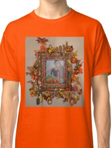 Levitating Oranges Of Borneo - Framed Classic T-Shirt