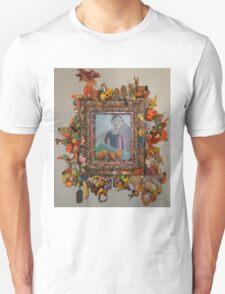 Levitating Oranges Of Borneo - Framed Unisex T-Shirt
