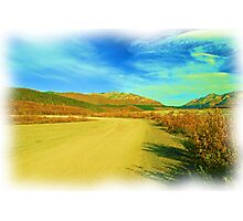 Clear Road Ahead Photographic Print