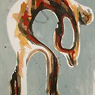 Arching Figure Abstract 2 by Josh Bowe