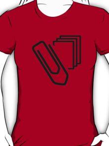 Paper clip documents T-Shirt