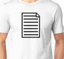 Document paper Unisex T-Shirt