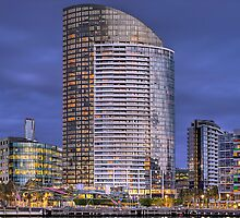 Docklands by Night by Andrew Holford
